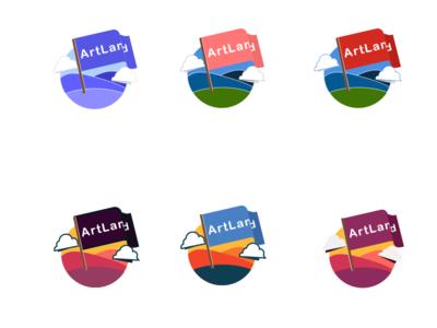 Color ideation color logo design