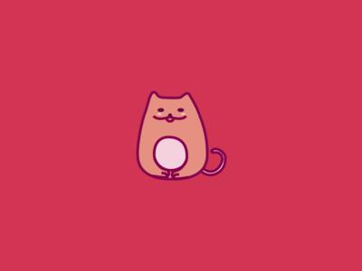 Cat ux ui illustration design creative