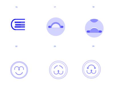 logo ideation illustration logo