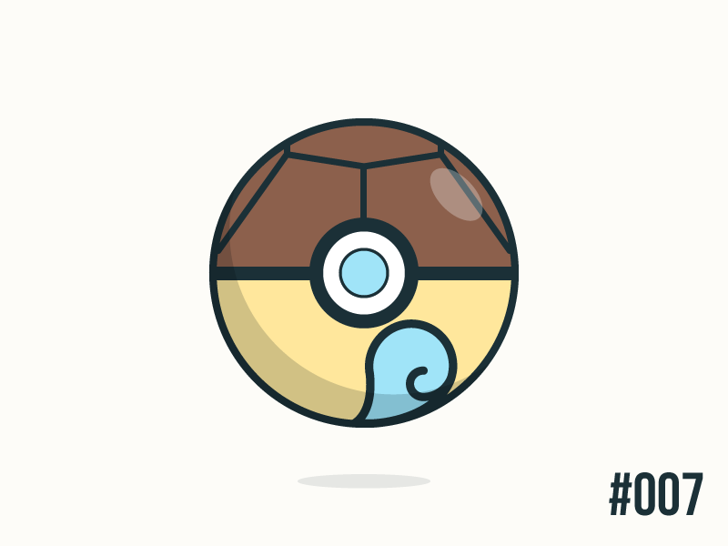 tags squirtle dribbble