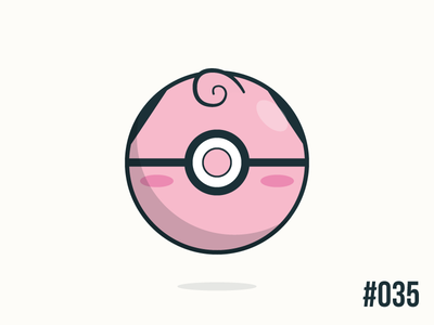 Pokéballday: #035 Clefairy Ball