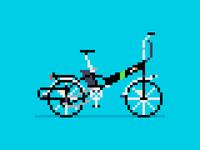 Pixel Art Bike:  Electrobike Alfa +