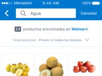 Retailer search result