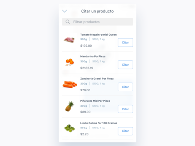 Mercadoni Chat - Quote Product (Search) iOS