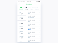 Mercadoni Checkout Schedule iOS