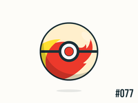 Pokéballday #077 Ponyta Ball