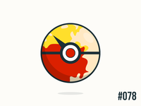 Pokéballday #078 Rapidash Ball