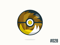 Pokéballday: #028 Sandlash Ball