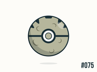 Pokéballday #075 Graveler Ball