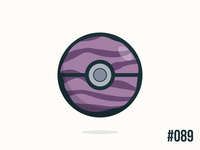 Pokéballday #089 Muk Ball