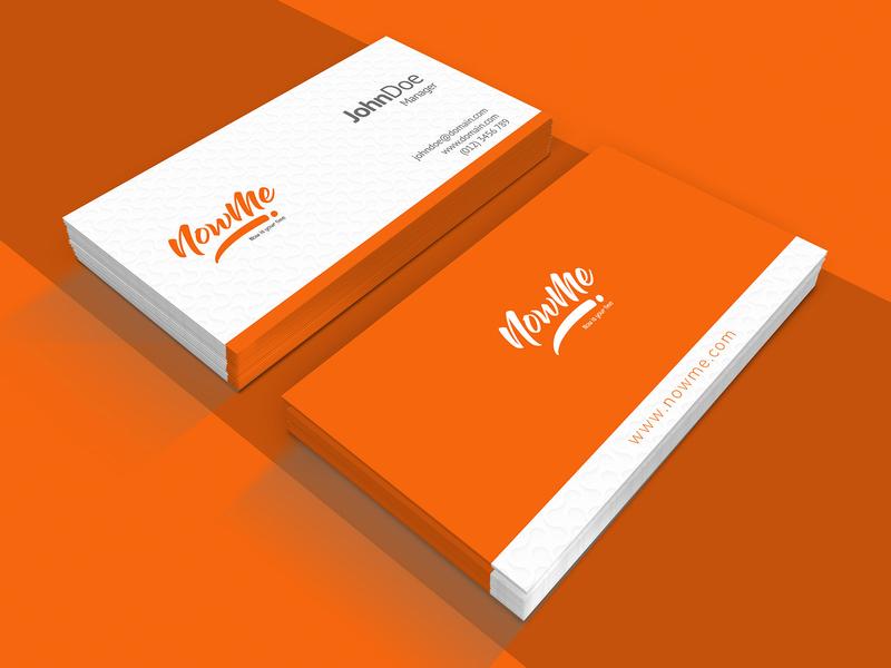 Now Me Card Design card business cards business card design business card business card template template illustration design company card design branding advertisement