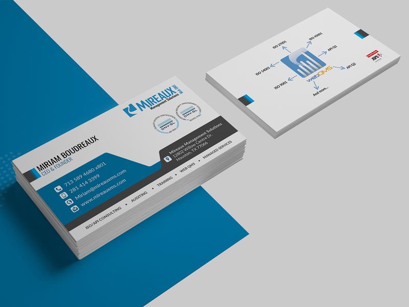 Miriam Boudreaux Card Design card card design business cards business card business card design business card template template branding illustration design company advertisement