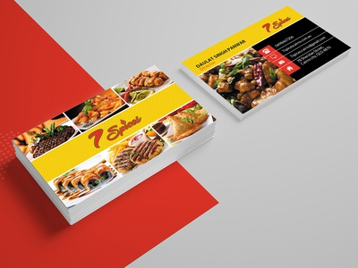7 Spices Card Design