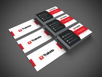 Trakida Business Card Design