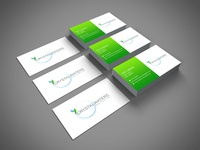 CRYSTAL WATERS Business Card design