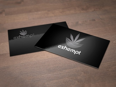 Exhempt Business Card Design