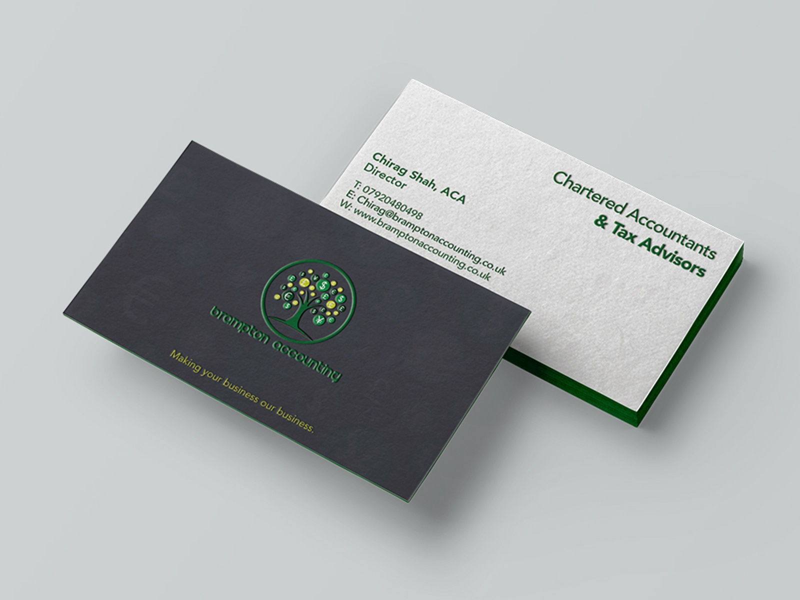 Brampton Accounting Business Card