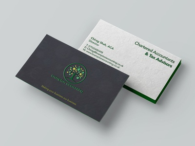 Brampton accounting Business Card Design