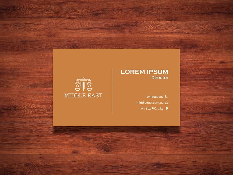 Middle East Business Card Design card design card design business card template business cards business card design business card
