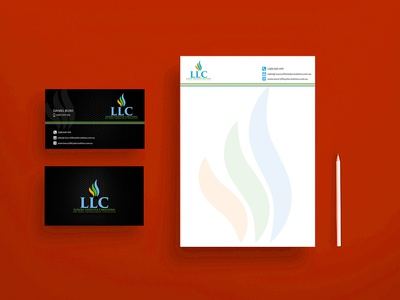 LLC Business Card Design
