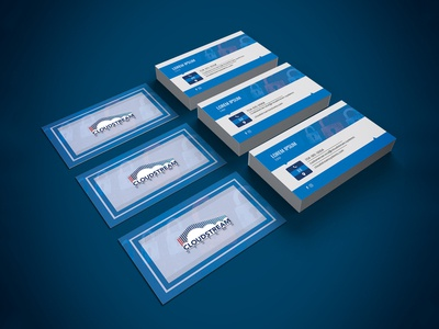 Cloudstream Business Card Design