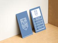 Grams Business Card Design