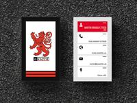 Assent Business Card Design