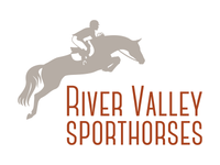Horse Logo for River Valley Sporthorses