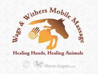 Horse Logo for Animal Massage  Business
