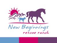 Custom Horse Logo for Rescue Organization