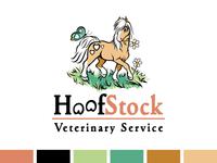 Horse Logo for Equine Veterinary Service
