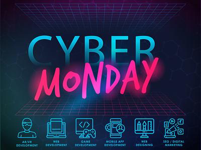 Cyber Monday at Technobrave webdevelopment development webservices webdesign illustrator design cybermodaydeals cybermonday cybermondaysale