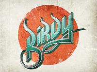 Birdy Typography