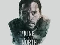 Jon Snow in Watercolor