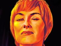 GOT Tribute Poster: Cersei Lannister
