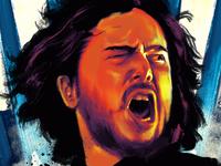 GOT Tribute Poster: Jon Snow in procreate