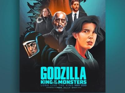 Godzilla-Alternative Movie Poster
