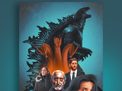 Godzilla- Full Poster