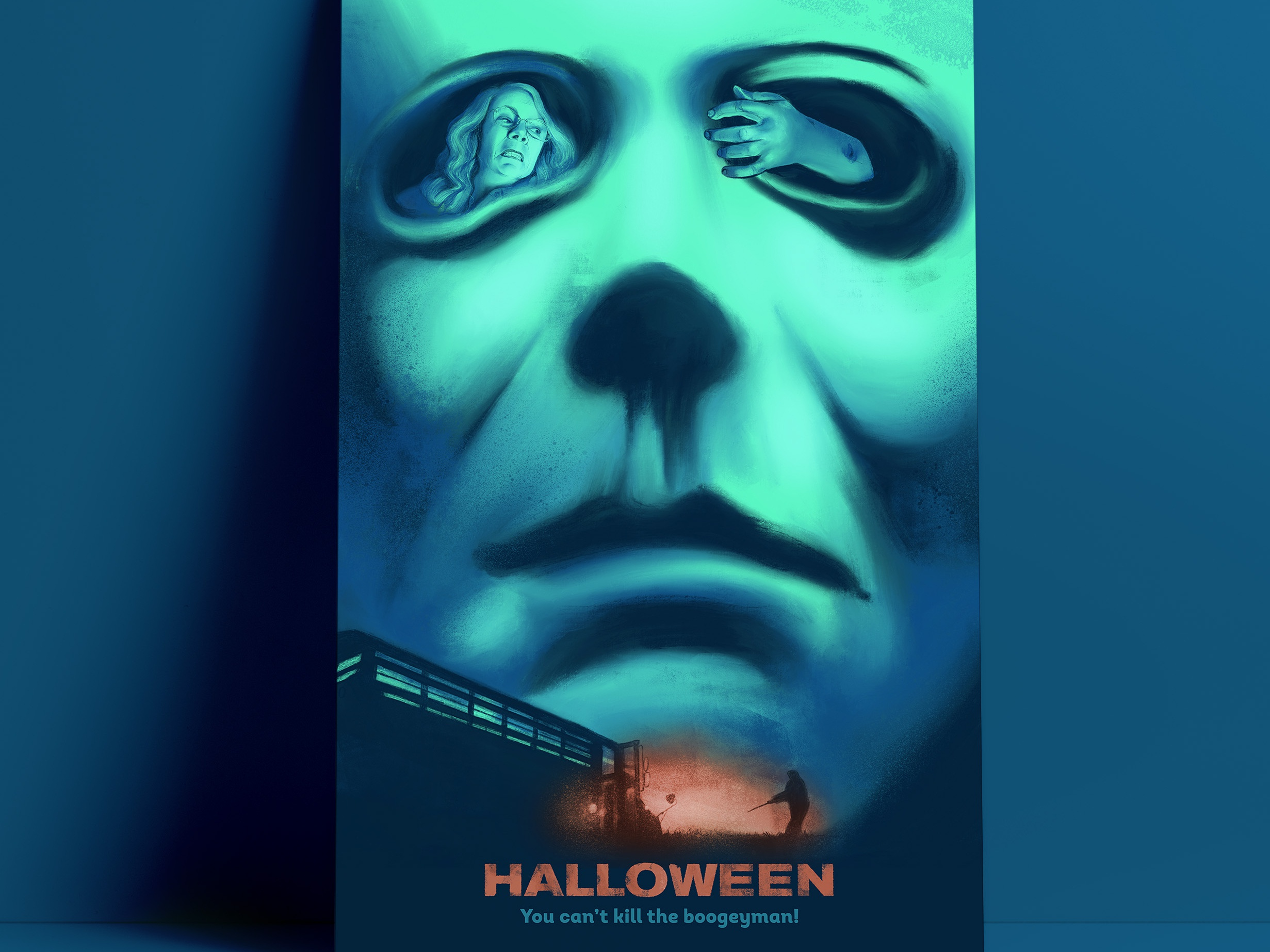Alternative Movie Poster Halloween by The Commas on Dribbble