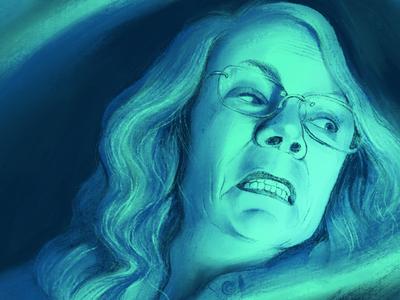 Halloween Poster-  Jamie Lee Curtis