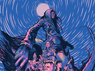 Iron Maiden in Adobe Illustrator