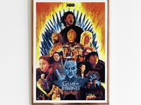 Game of Thrones- Tribute Poster