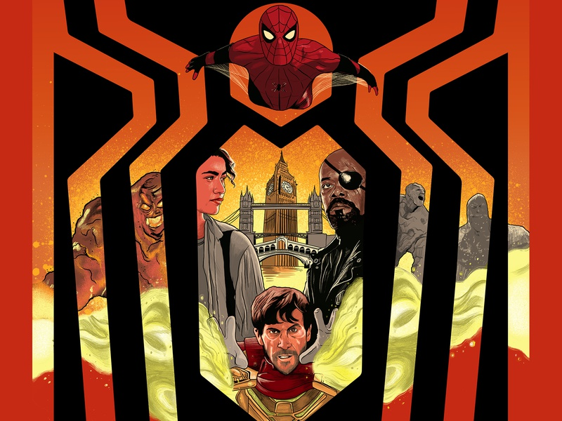 Alternative Movie Poster Spider Man Far From Home By The