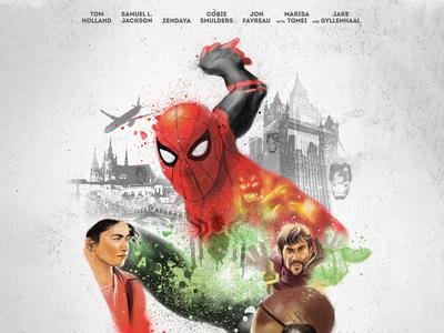 Alternative Movie Poster- Spider-Man: Far From Home