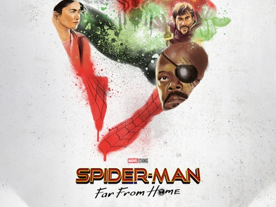Alternative Movie Poster- Spider-Man: Far From Home