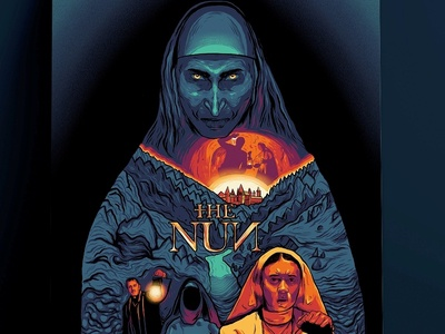 Alternative Poster: The Nun