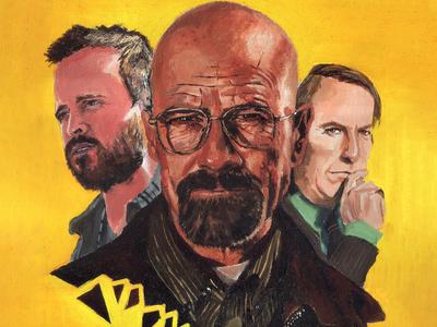 Oil Painting Tribute- Breaking Bad