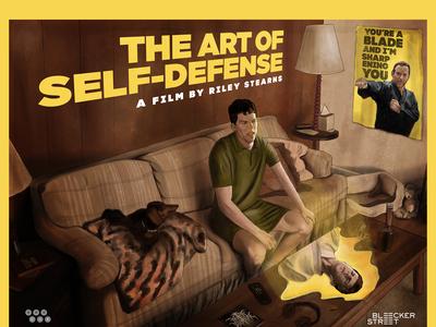 Alternative Movie Poster-Art of Self Defense