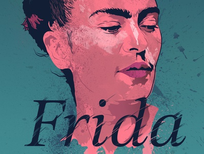 Frida- Alternative Movie Poster poster design poster a day poster art posters poster fridakahlo frida mexico city mexicano mexican mexico alternative movie poster digital illustration graphics digital digital art illustration graphic design marketing agency design