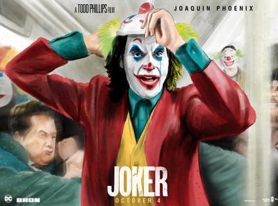 Joker- Watercolor Alternative Movie Poster